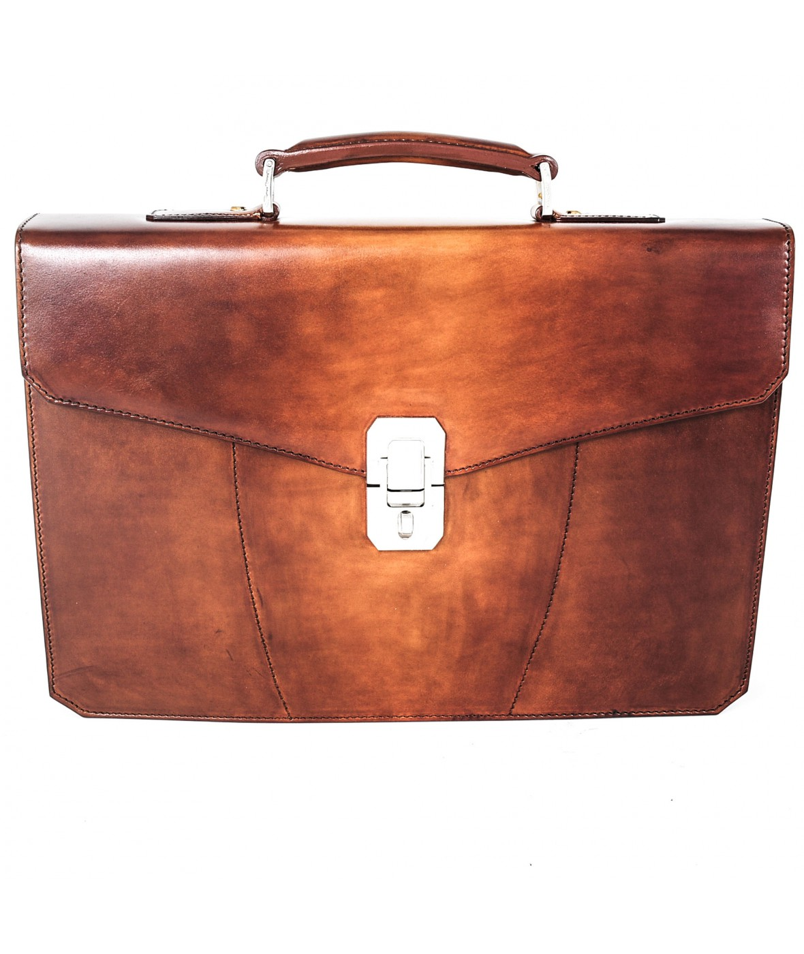 Santoni Office Bag Cognac (27810)