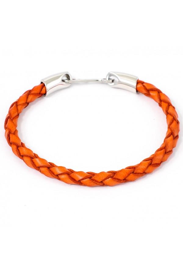Браслет Santoni оранжевый