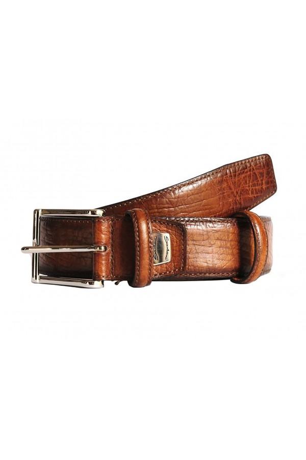 Кожаный ремень Santoni (420)